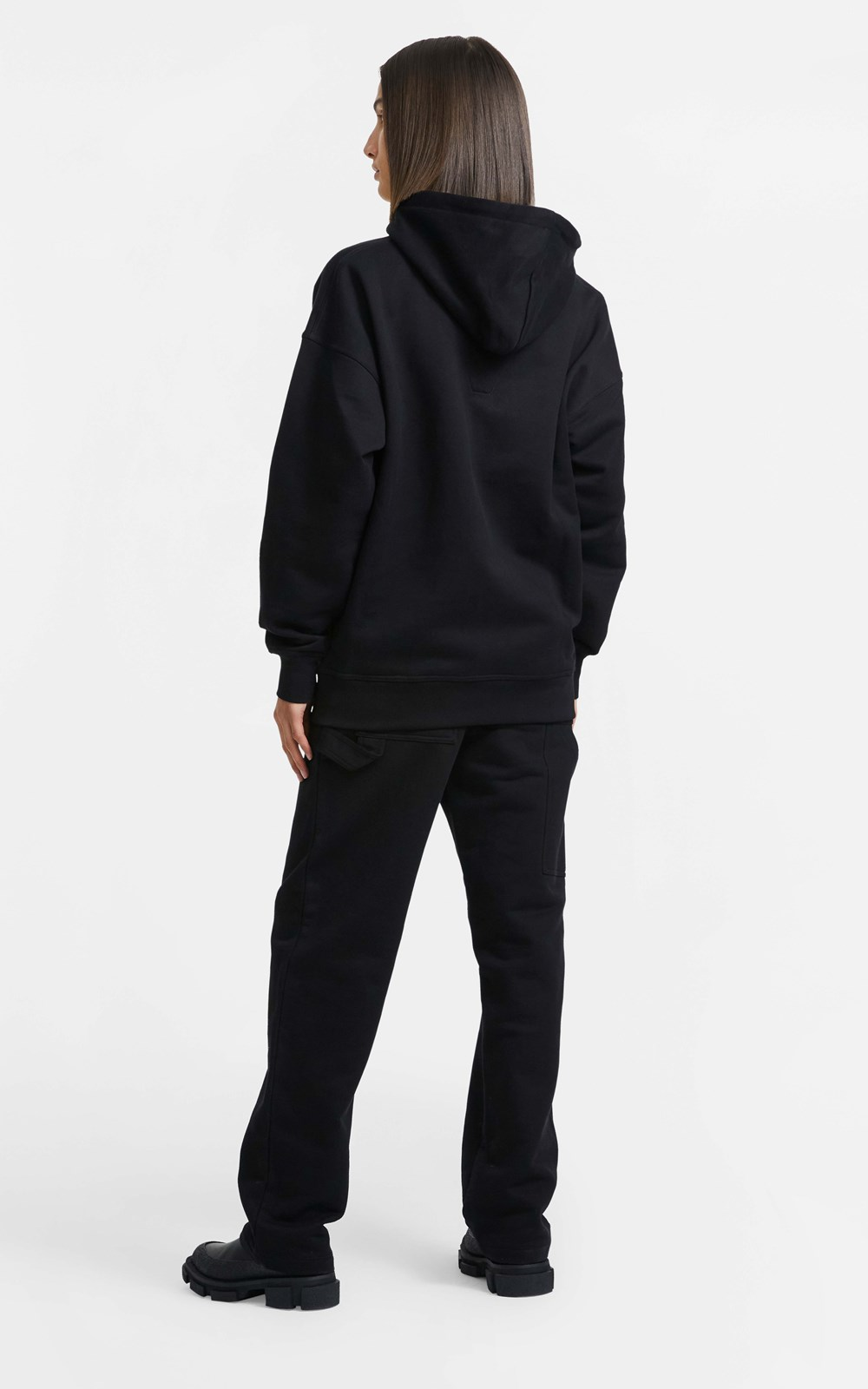 Unisex  | CONTRAST EMBROIDERED HOODIE