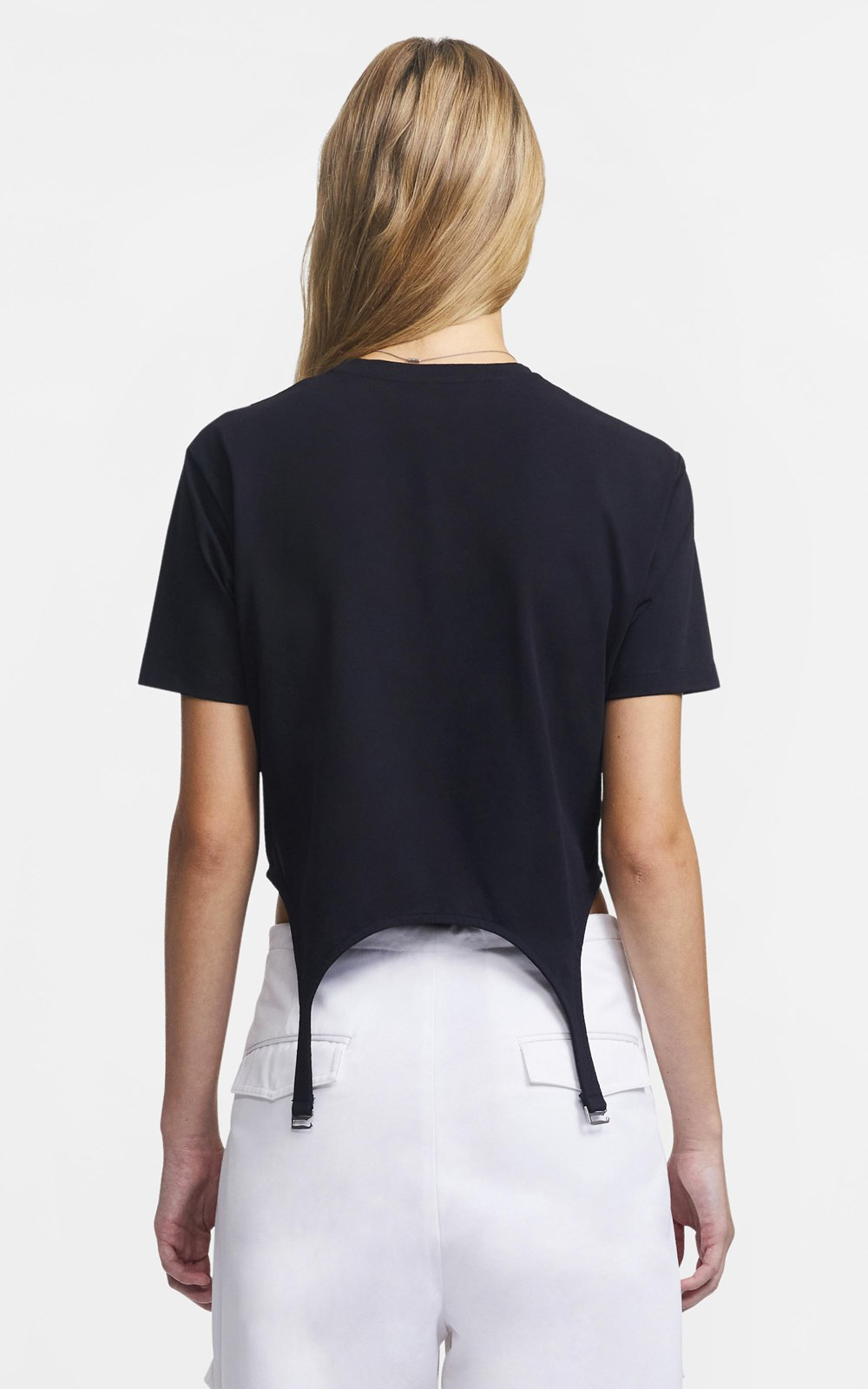 Tops | GARTER COTTON TEE