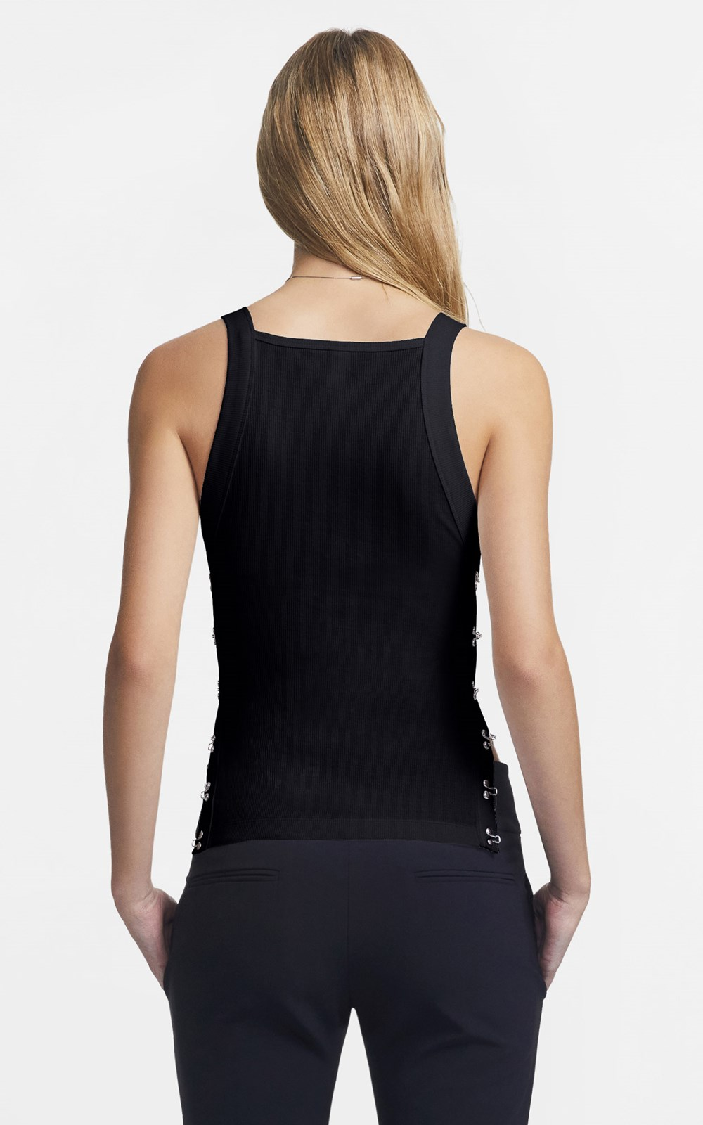 Tops | SIDE HOOK EYE TANK