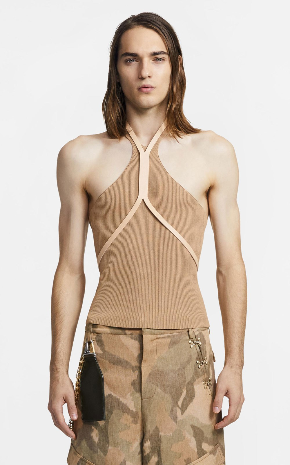 Tops | LEATHER FORK HARNESS
