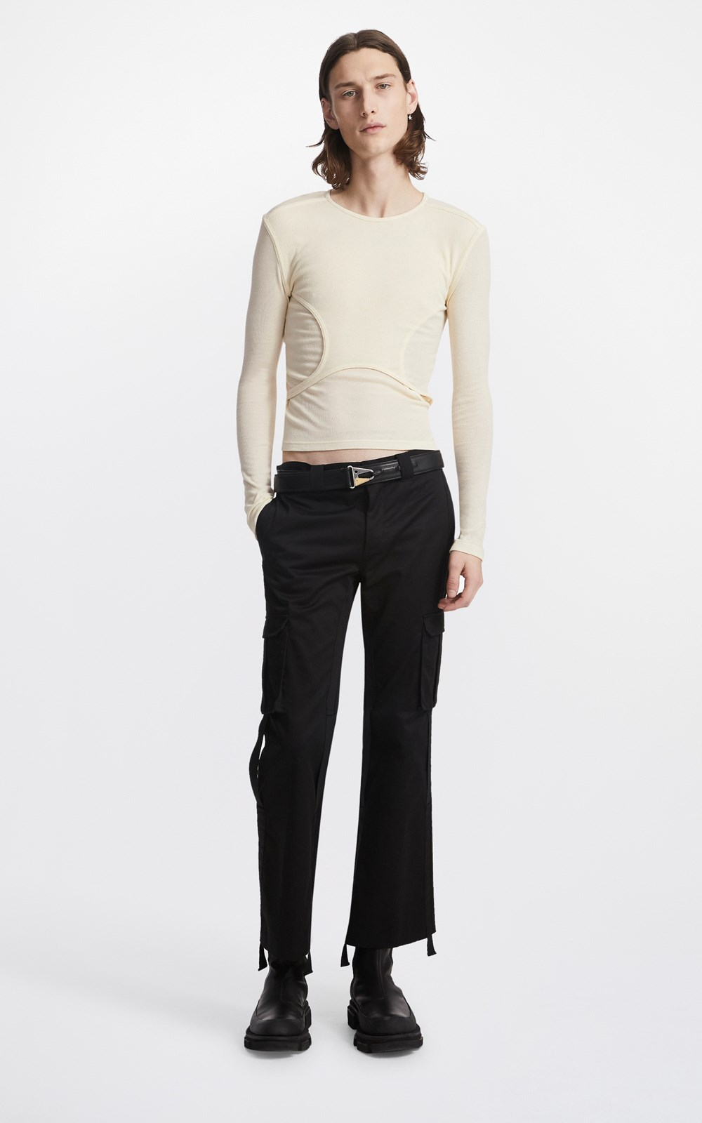 Tops    Y-FRONT LAYERED LS TOP