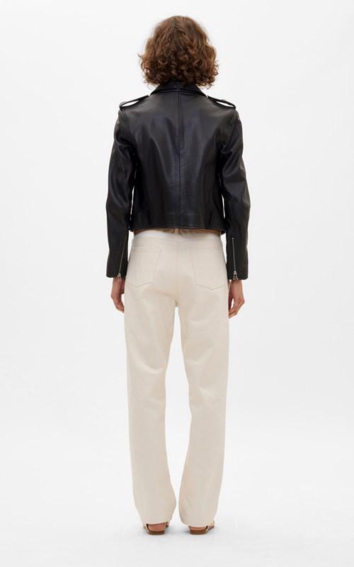 Outerwear | LEATHER BIKER JACKET