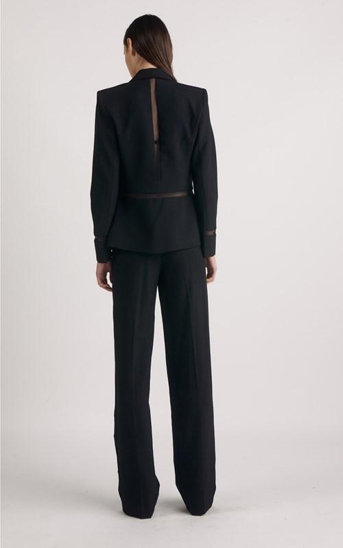 Outerwear | TAILORED MESH INSERT BLAZER