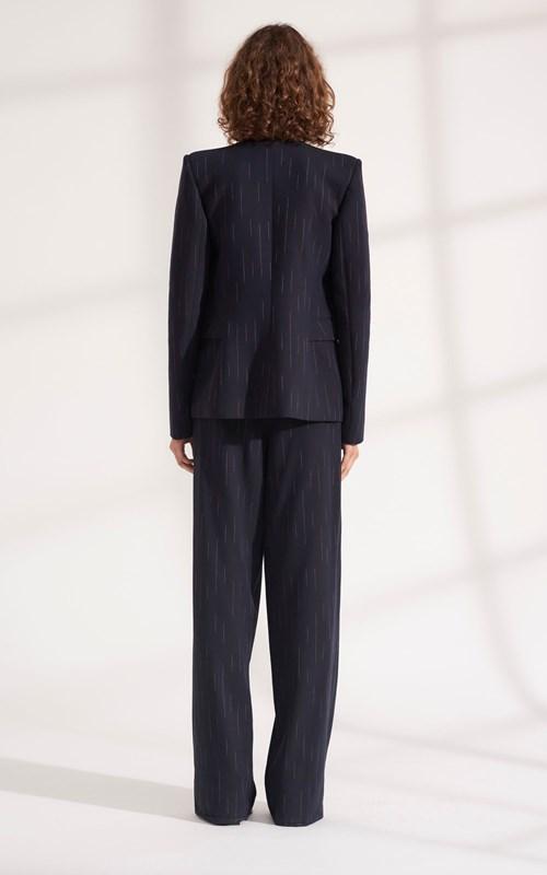 Outerwear | FADED PINSTRIPE BLAZER