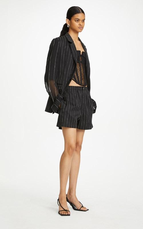 Outerwear | CHALK STRIPE FLOAT BLAZER