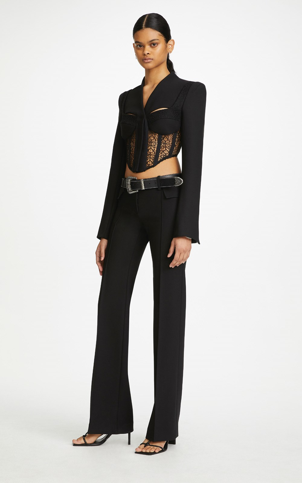 Outerwear  | TAILORED CORSET JACKET