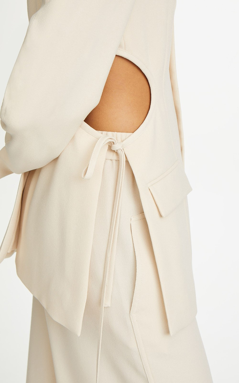 Outerwear | LOUNGE TIE JACKET
