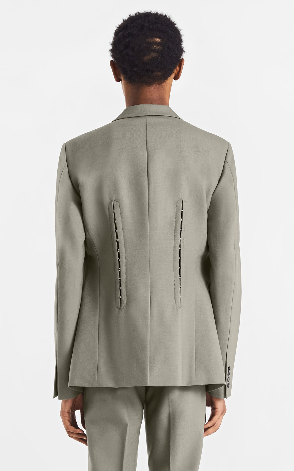 Outerwear | HOOK & EYE WOOL BLAZER