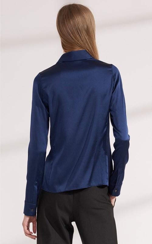 Shirts | SILK SATIN SHIRT