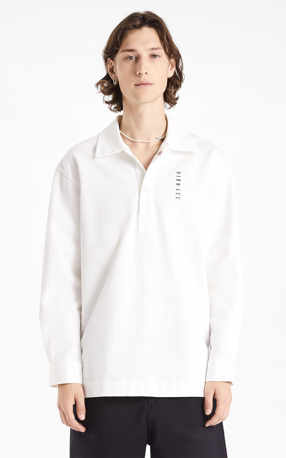 Unisex  | EMBROIDERED LOGO COTTON PULLOVER