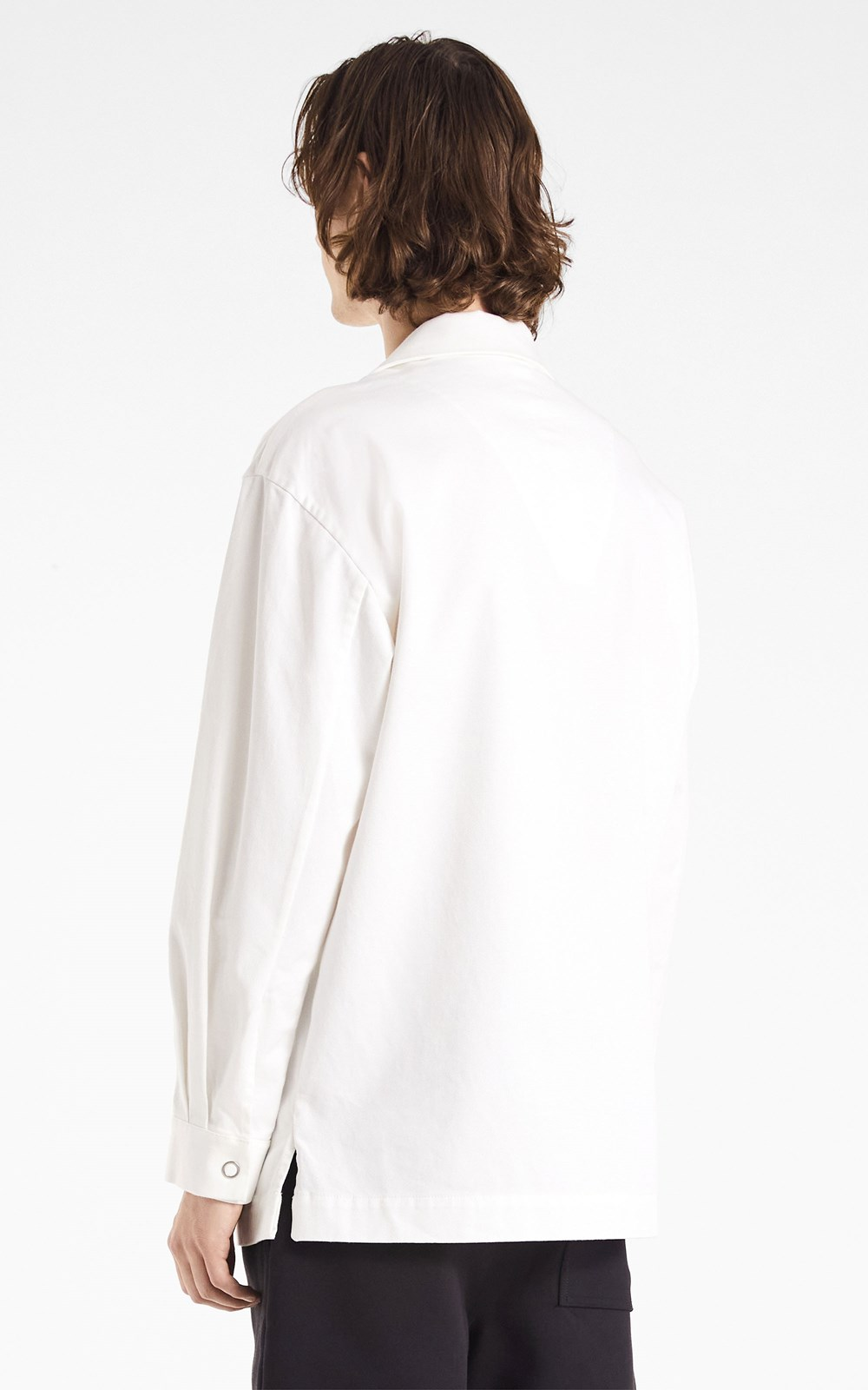 Tops | EMBROIDERED LOGO COTTON PULLOVER