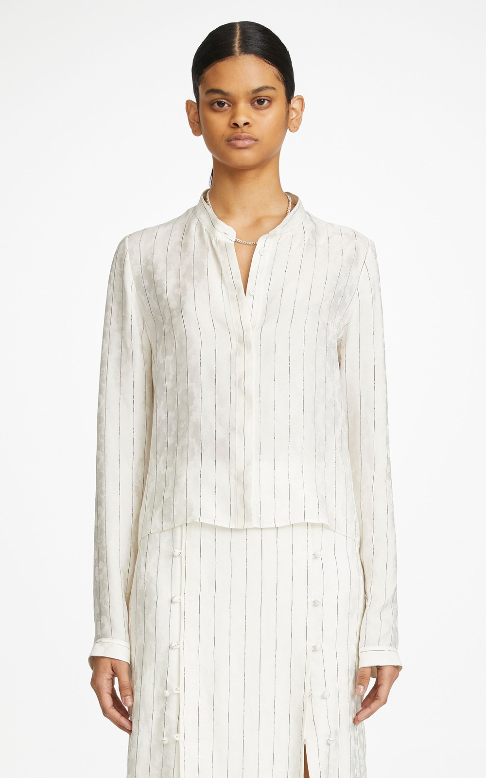 Tops | PINSTRIPE SHIRT