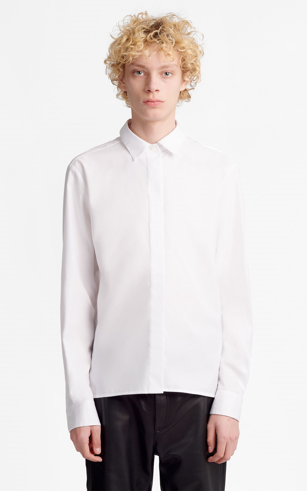 Unisex  | DOUBLE PLACKET SHIRT