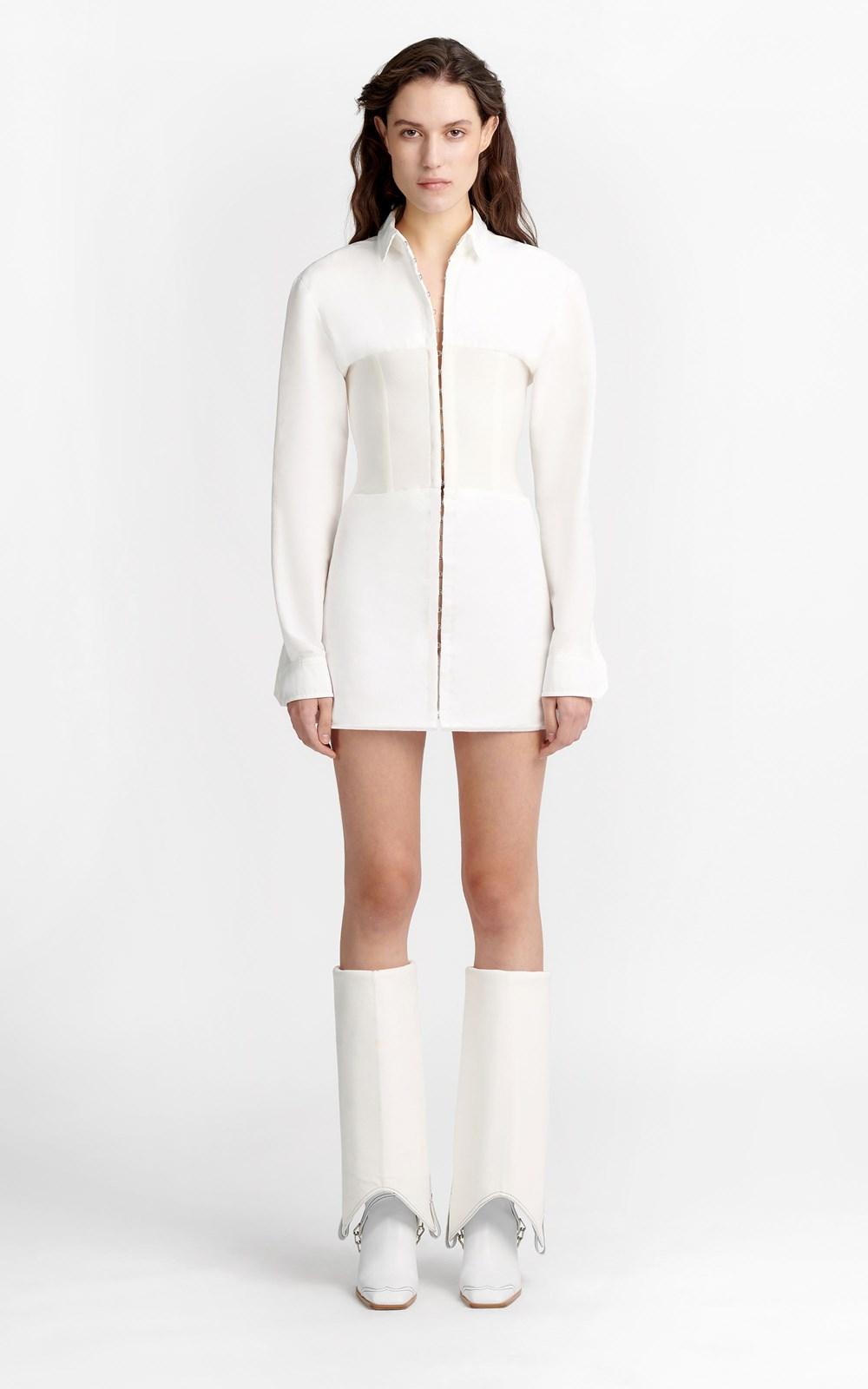 Dresses | HOOK TUBE SHIRT DRESS