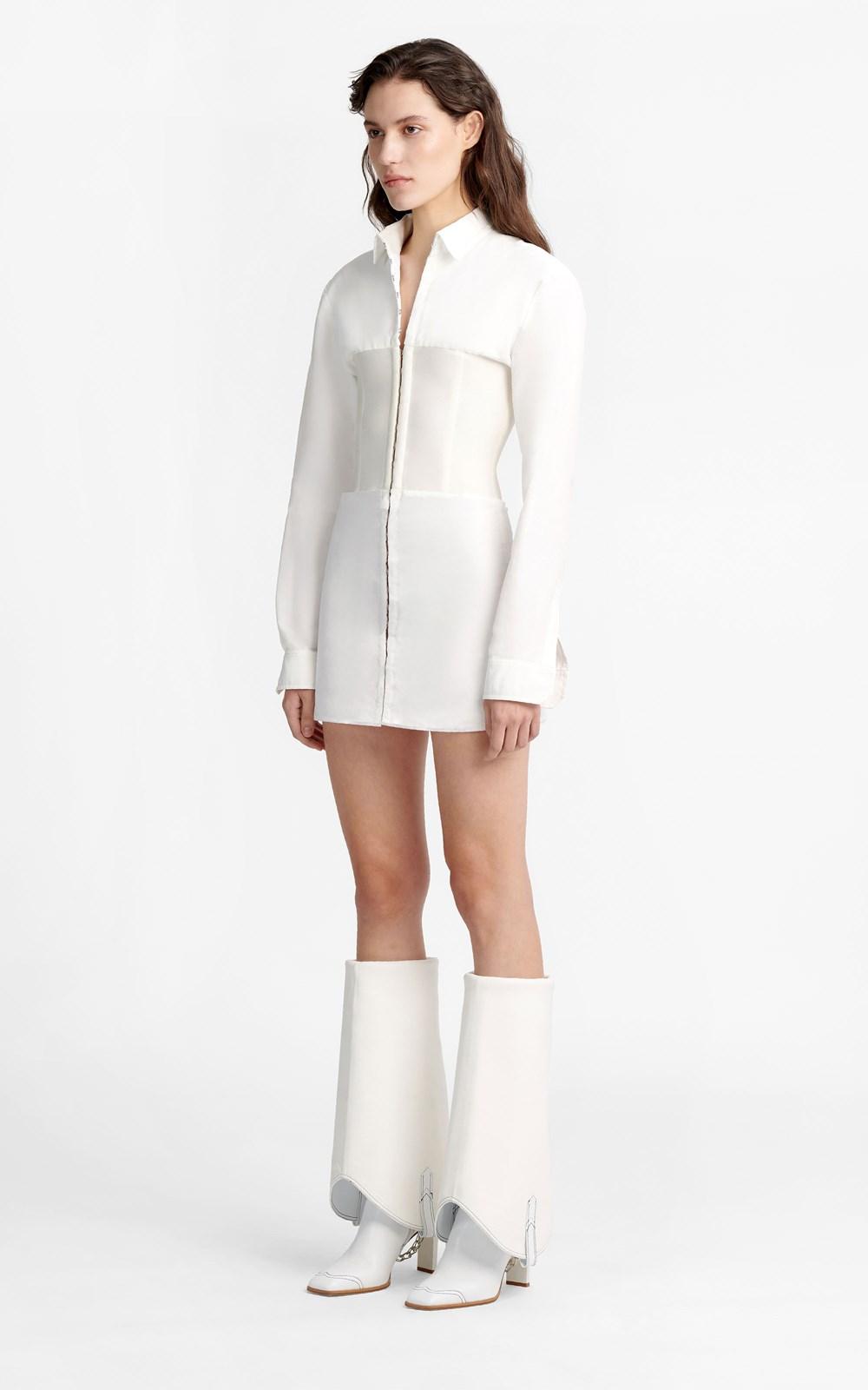 New    HOOK TUBE SHIRT DRESS