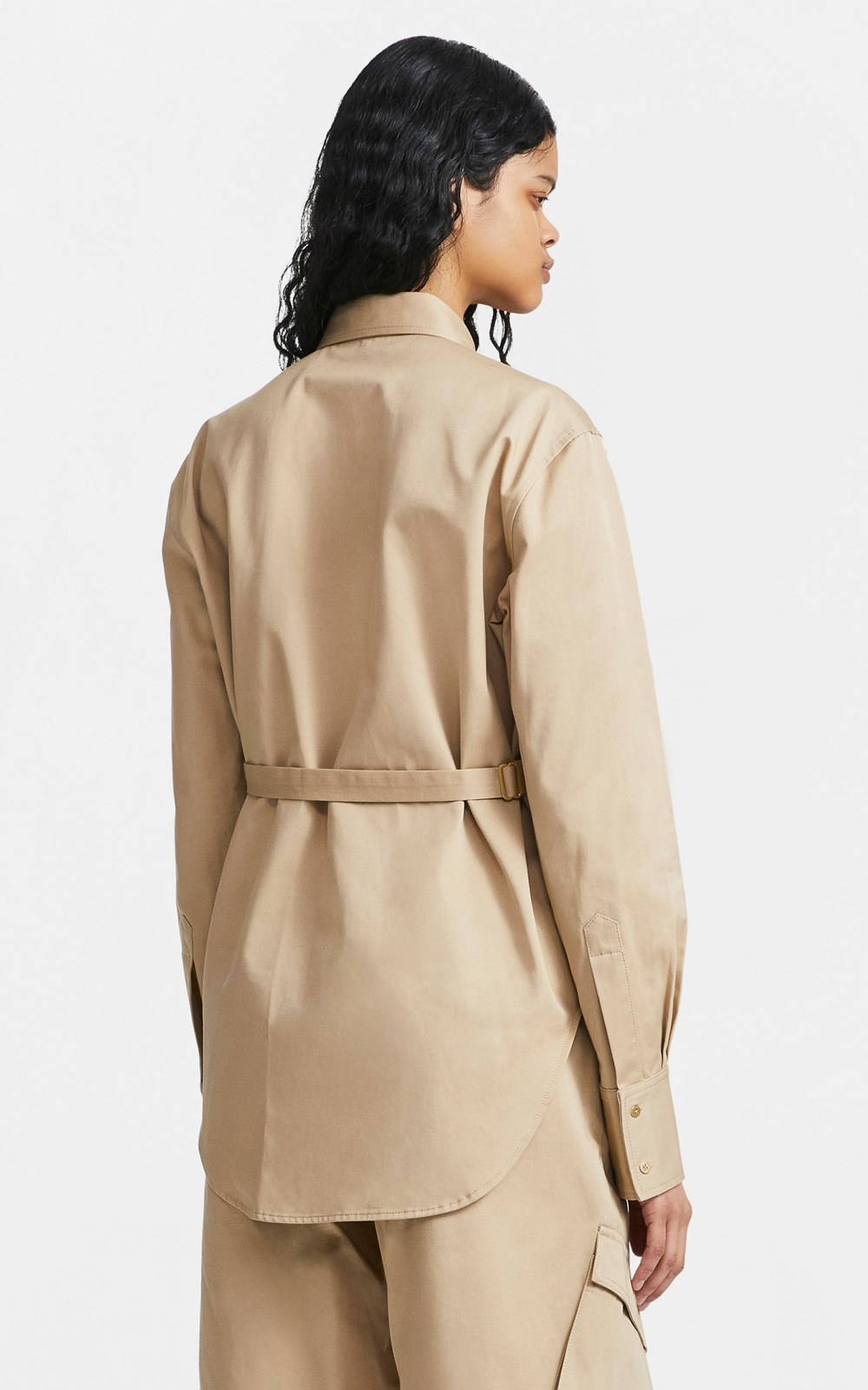 New  | BELTED UTILITY SHIRT