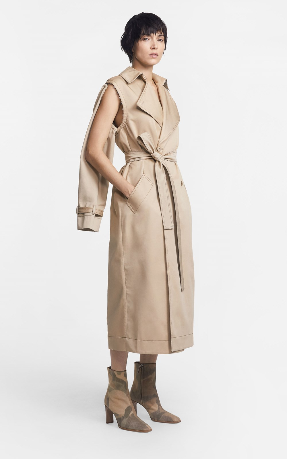 New  | CONVERTIBLE TRENCH COAT