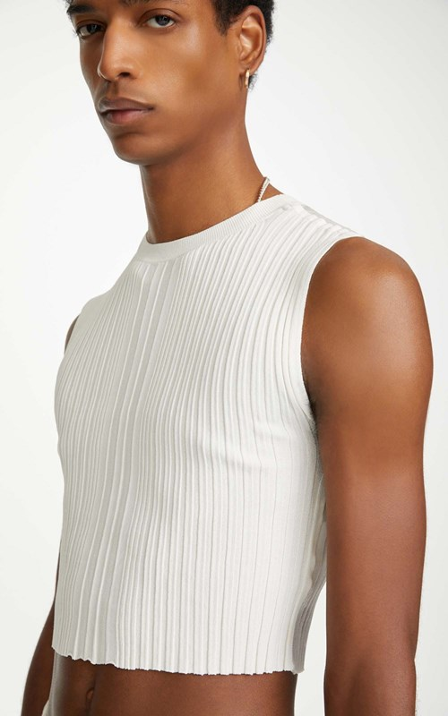 Tops | OPACITY PLEAT TEE