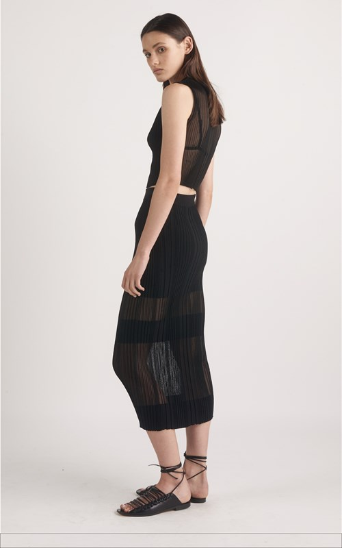 Skirts | OPACITY PLEAT SKIRT