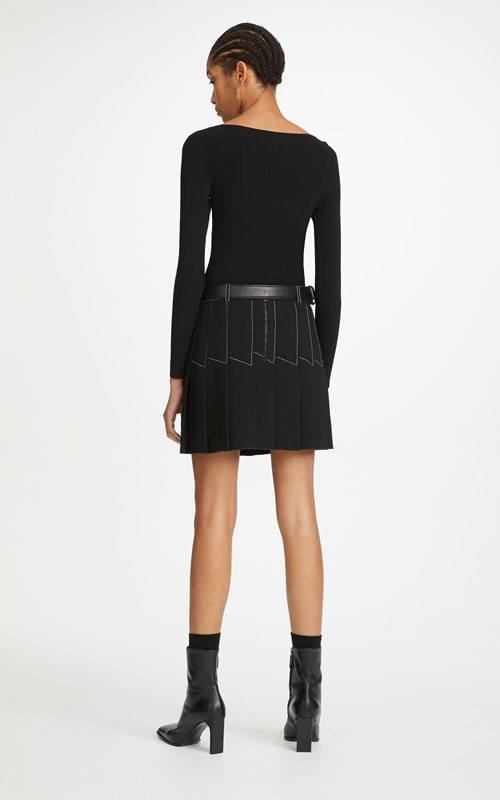Knitwear | SHADOW RIB LS