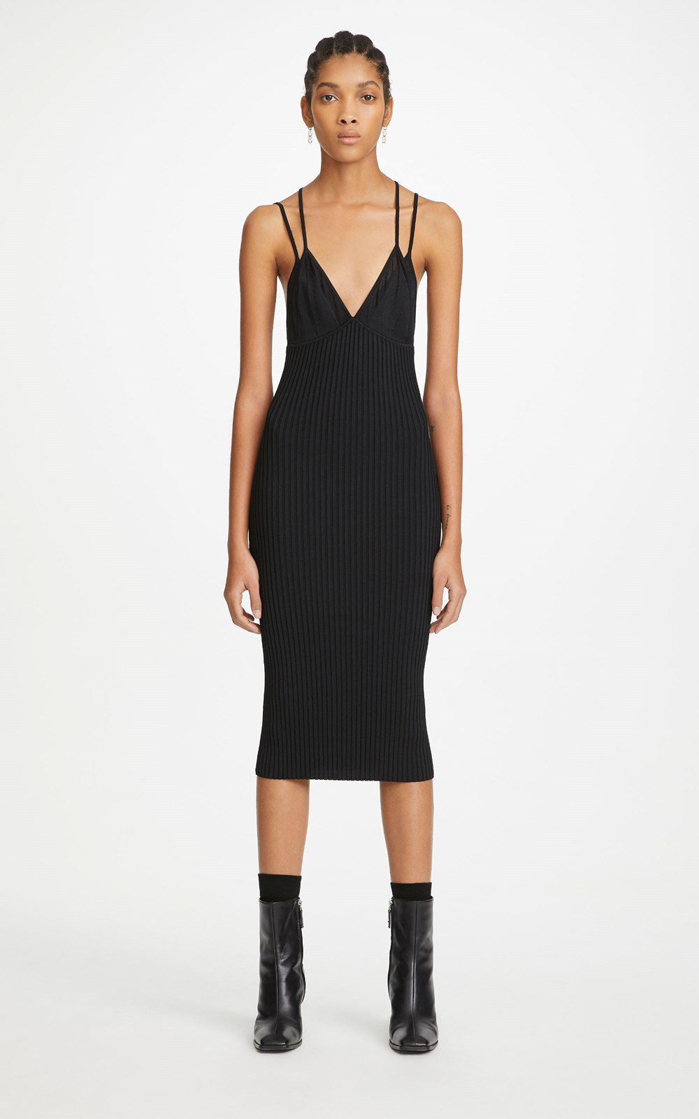 Dresses | LAYERED BRA DRESS