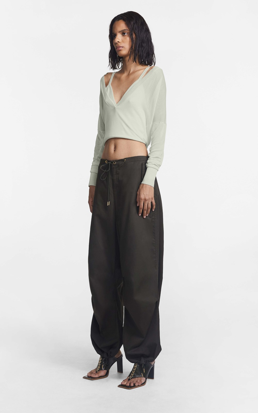 Knitwear | LOOP LAYERED SWEATER