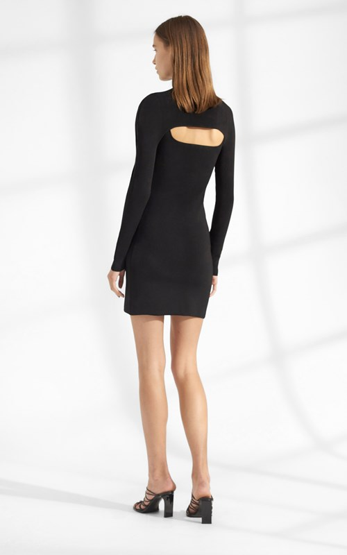 Knitwear | STIRRUP LS MINI DRESS