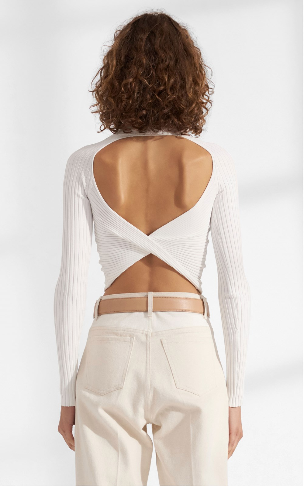Tops | TWIST BACK LS TOP
