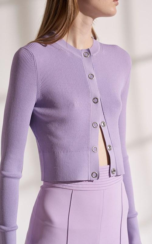 Knitwear   PINNACLE PLEAT CARDI