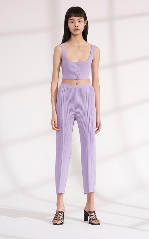 Pants | PINNACLE PLEAT CROPPED PANT