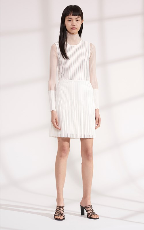 Dresses | GODET PLEAT MINI DRESS