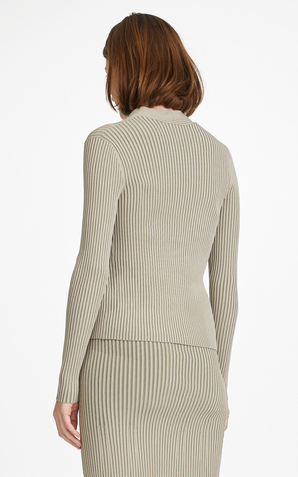 Knitwear | CABLE TWIST LS TOP