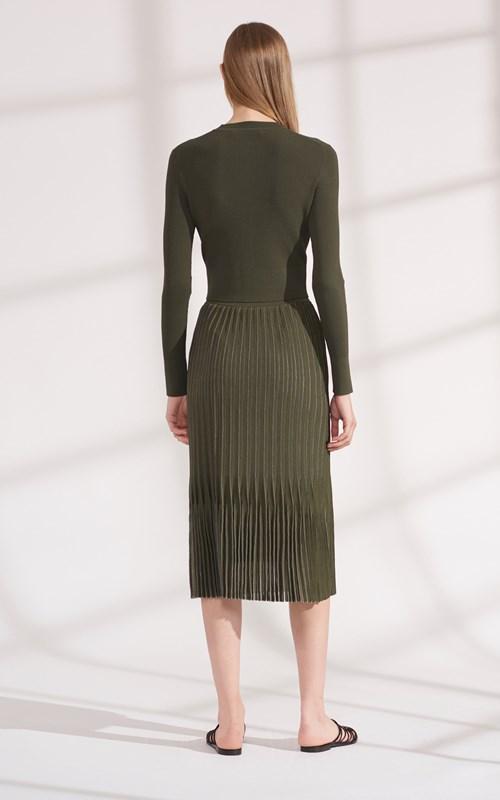 Skirts | GODET PLEAT MIDI SKIRT