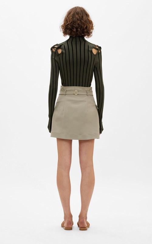 Knitwear | BRAID LS SKIVVY