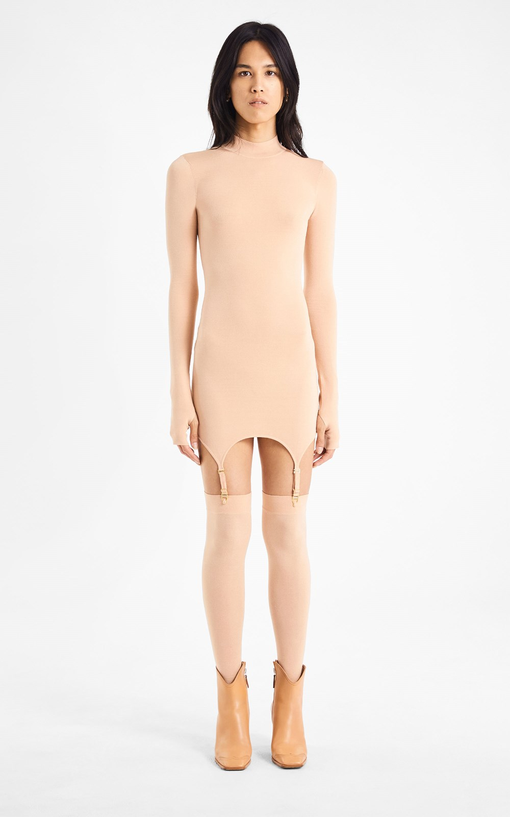Knitwear | GARTER MINI DRESS