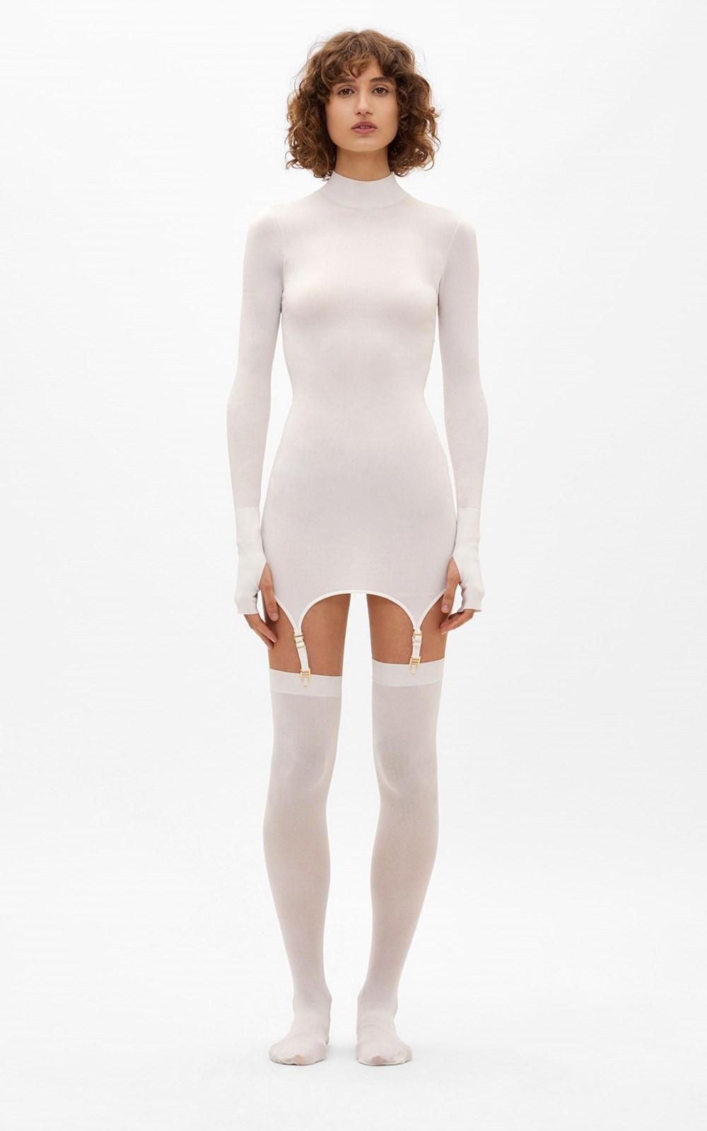 Knitwear | GARTER MINI DRESS