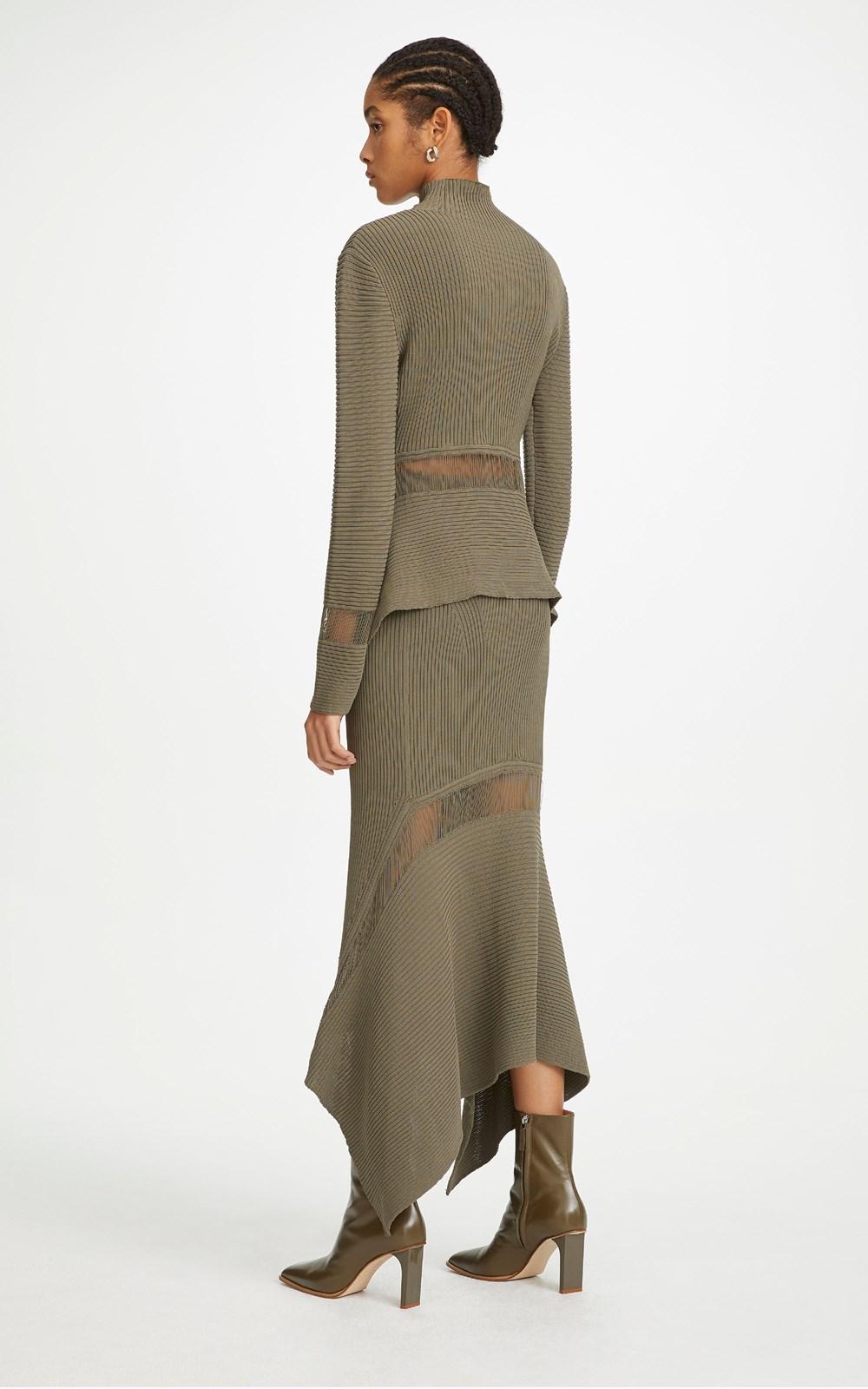 Knitwear | CORD FLOAT SWEATER