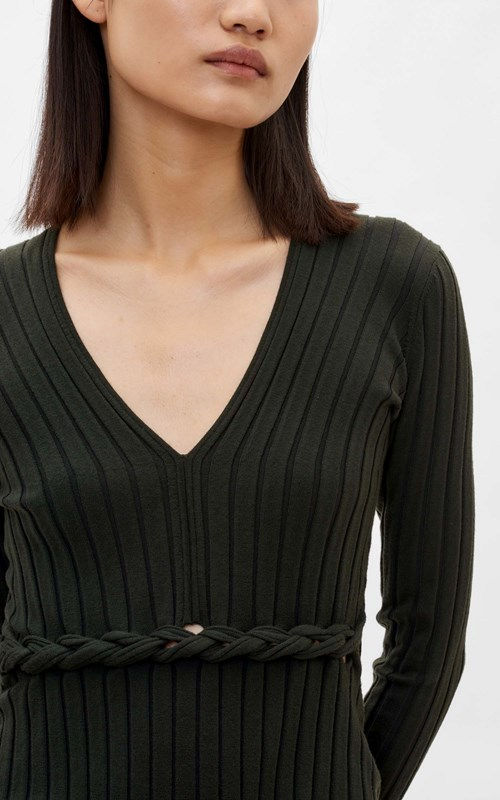 Tops  | MERINO BRAID LS