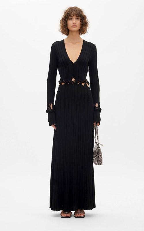 New  | BRAID LS DRESS