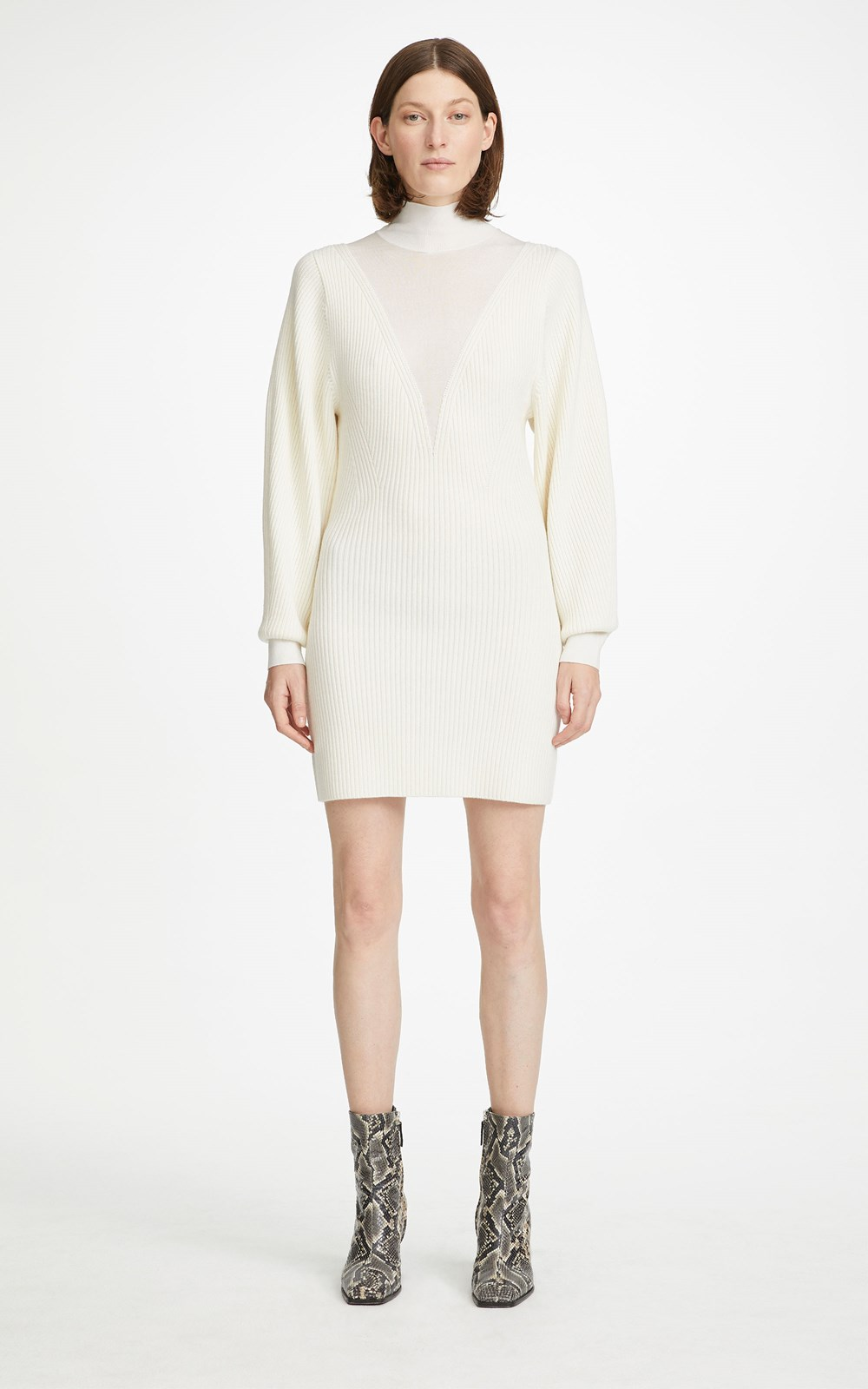 Knitwear | MERINO HOSIERY DRESS