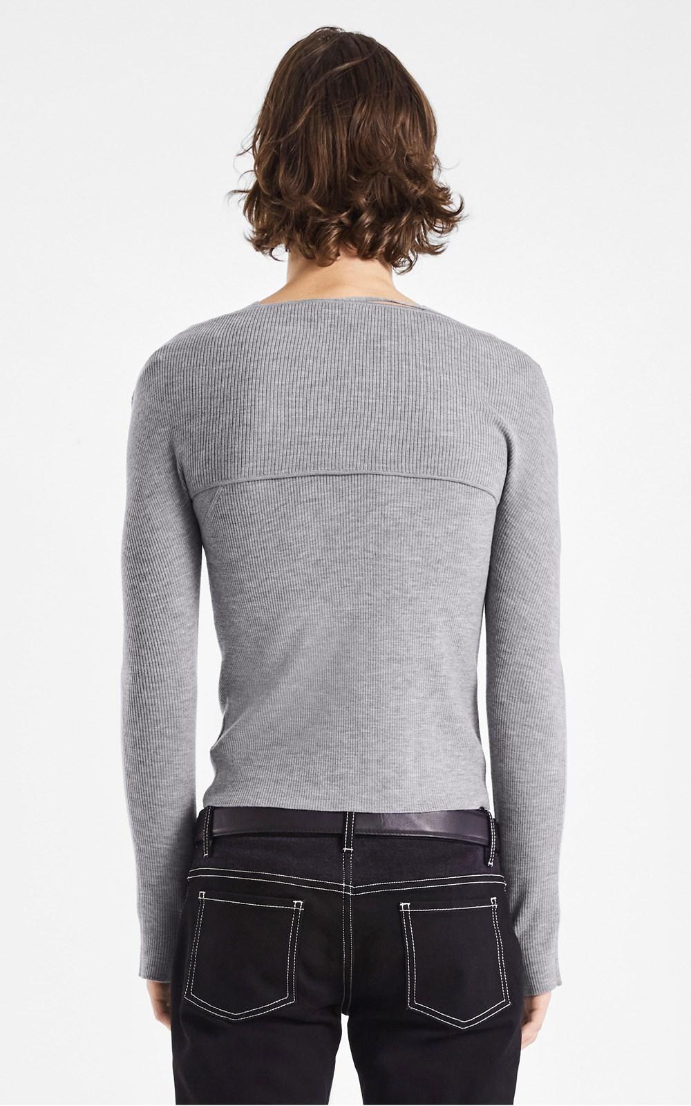 Knitwear | MERINO HYBRID LS TANK