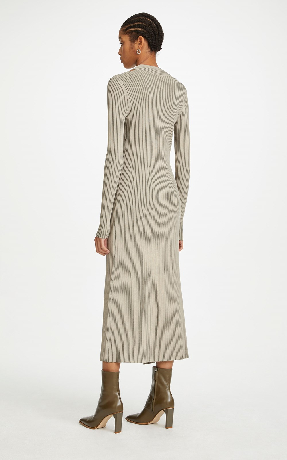 Knitwear | CABLE TWIST DRESS