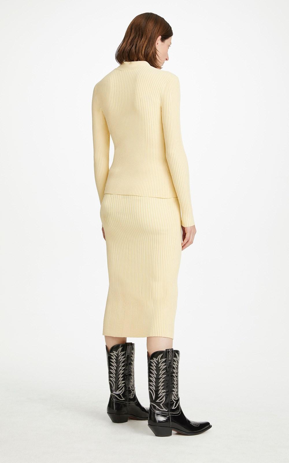 Knitwear   CABLE TWIST SKIRT