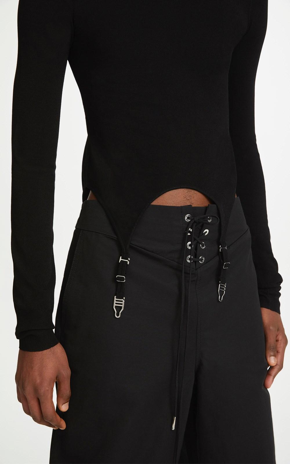 Knitwear | GARTER LS TOP