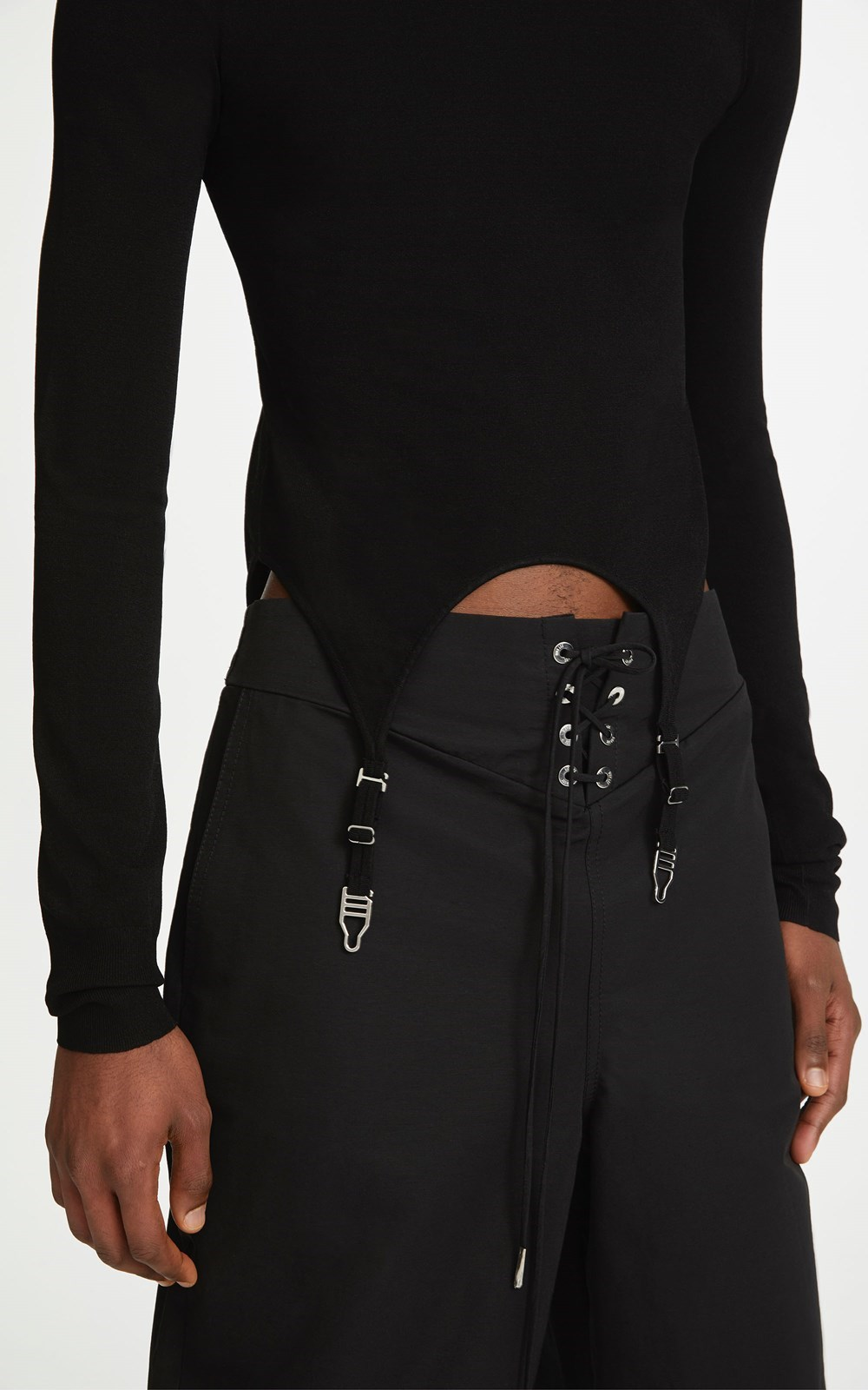 Knitwear   GARTER LS TOP