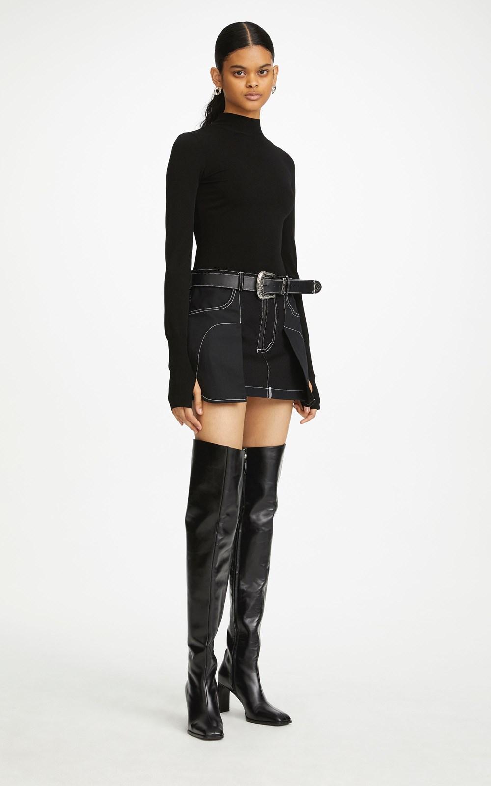 Knitwear | HOSIERY LS TOP