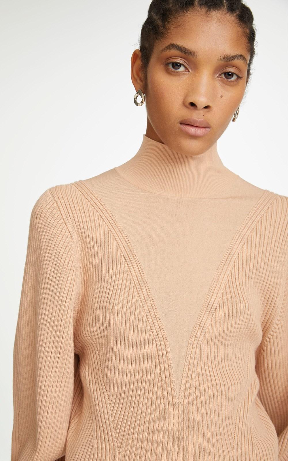 Knitwear   MERINO HOSIERY SWEATER