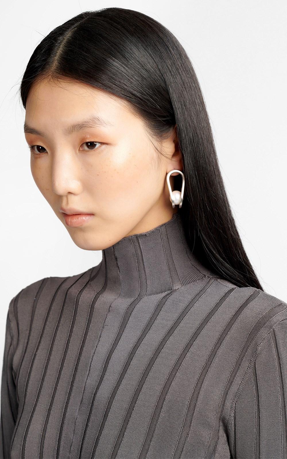Knitwear | CHAIN LINK LS DRESS