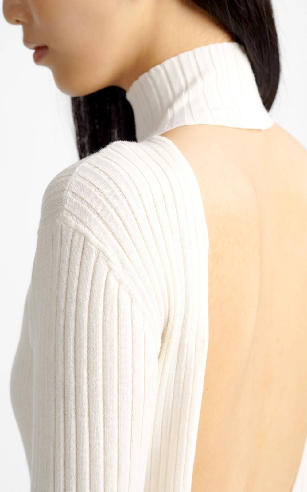 Knitwear | SCOOP BACK LS TOP
