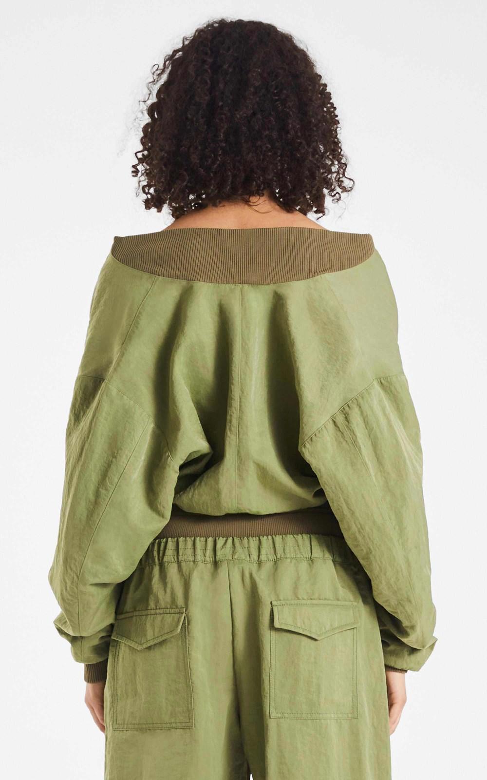 Knitwear | RIB LOOP BOMBER